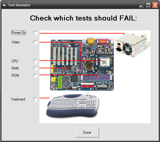 Image result for test a computer motherboard