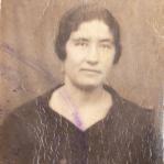 Luisa Baena Mármol, viuda de Manuel Burguillos Serrano.