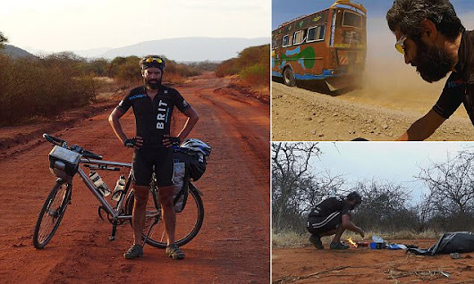 Cyclist who rode from Norway to Africa reveals his scariest moments