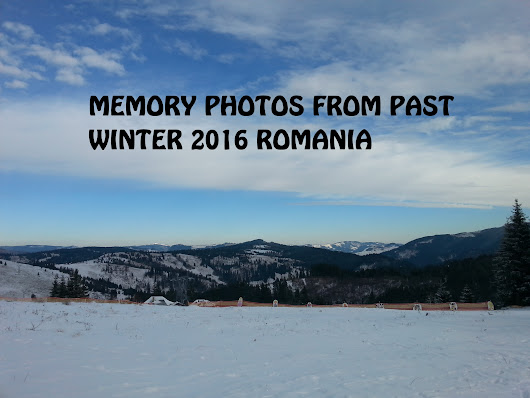 My Top Memory photo-gallery past winter 2016 Romania