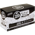 Crayola Take Note! Bulk Dry-Erase Markers, Black, 12 Pieces