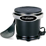 Presto 05420 Fry-daddy Electric Deep Fryer, 120 Watts, Black