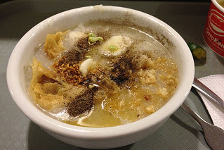 Eating in Manila - Arroz Caldo