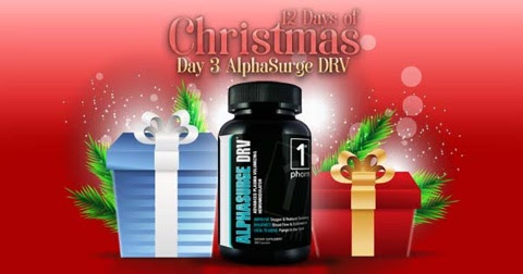 Win a FREE AlphaSurge DRV Pump Pre-Workout