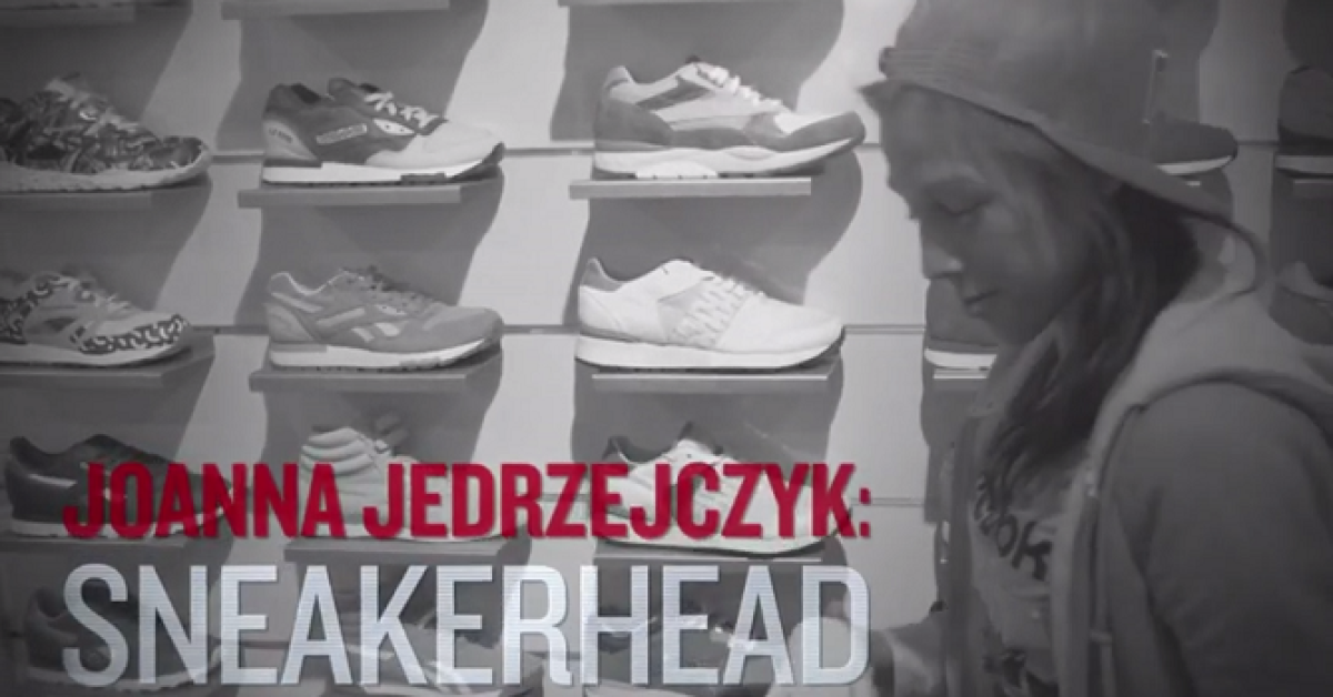 「Joanna Jedrzejczyk and Her Sneaker Collection」の画像検索結果