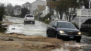 Bão Irene phá huỷ nhiều bang ở Mỹ bao gồm Westbrook, Connecticut