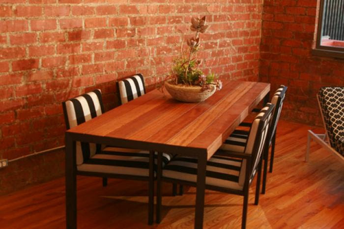 www.roomservicestore.com - Ironwood Outdoor Dining Table with Matt ...