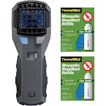 Thermacell MR-450X Armored Portable Mosquito Repeller w/ R-1 Refill Pack (2)
