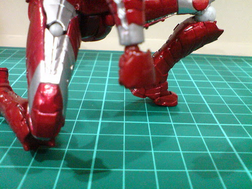 Ngee Khiong Ex: Sci-fi Revoltech Iron Man Mark V Part 4