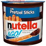 Nutella & Go! Pretzel, 1.9 oz, (Pack of 12), Size: 22.8 fl oz