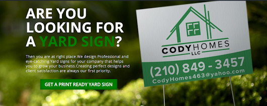 Get a Professional Open House or For Sale sign in just $20. Isn't It Amazing?