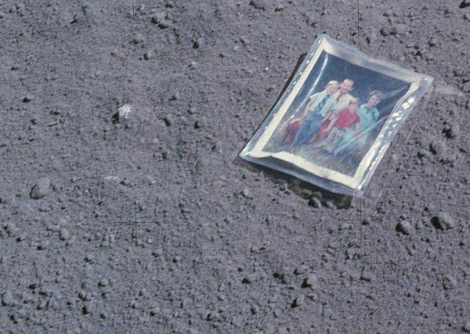 Left Behind On The Moon