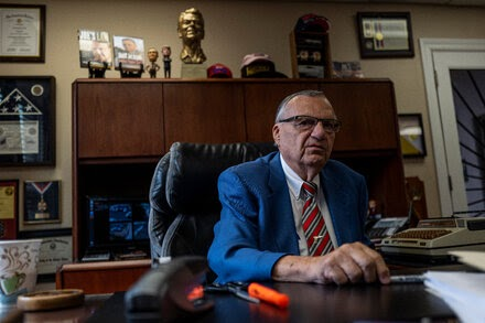 TREND ESSENCE:Joe Arpaio Loses Arizona Primary to Reclaim His Old Job as Sheriff