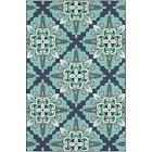 Oriental Weavers Meridian 2206B Blue/Green Area Rug