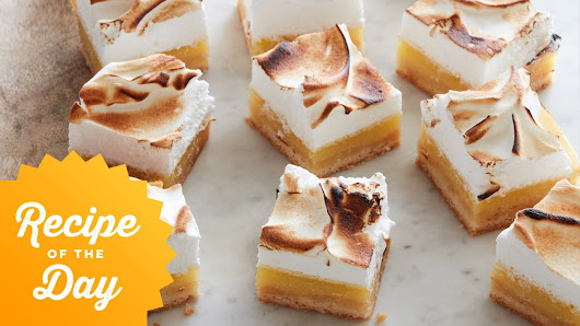 Food network google recipe of the day lemon meringue bars food network forumfinder Image collections