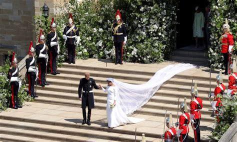 Meghan Markle's royal wedding dress designer shares behind