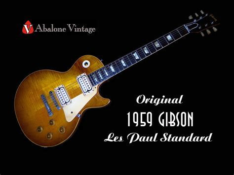 Guitar 1959 Gibson Les Paul Standard Wallpaper HD