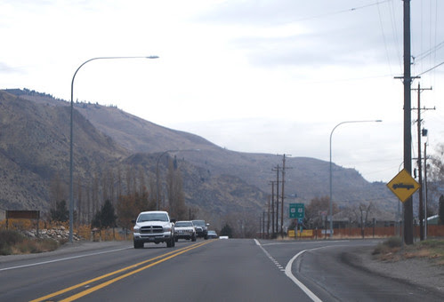 US 97 @ US 2 eastward