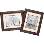 Old Town Designer Eco Frames in Walnut, 2-Pack, 11x14