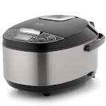 Aroma ARC-616SB Professional 12 Cup Stainless Steel Rice Cooker Food Steamer & Slow Cooker