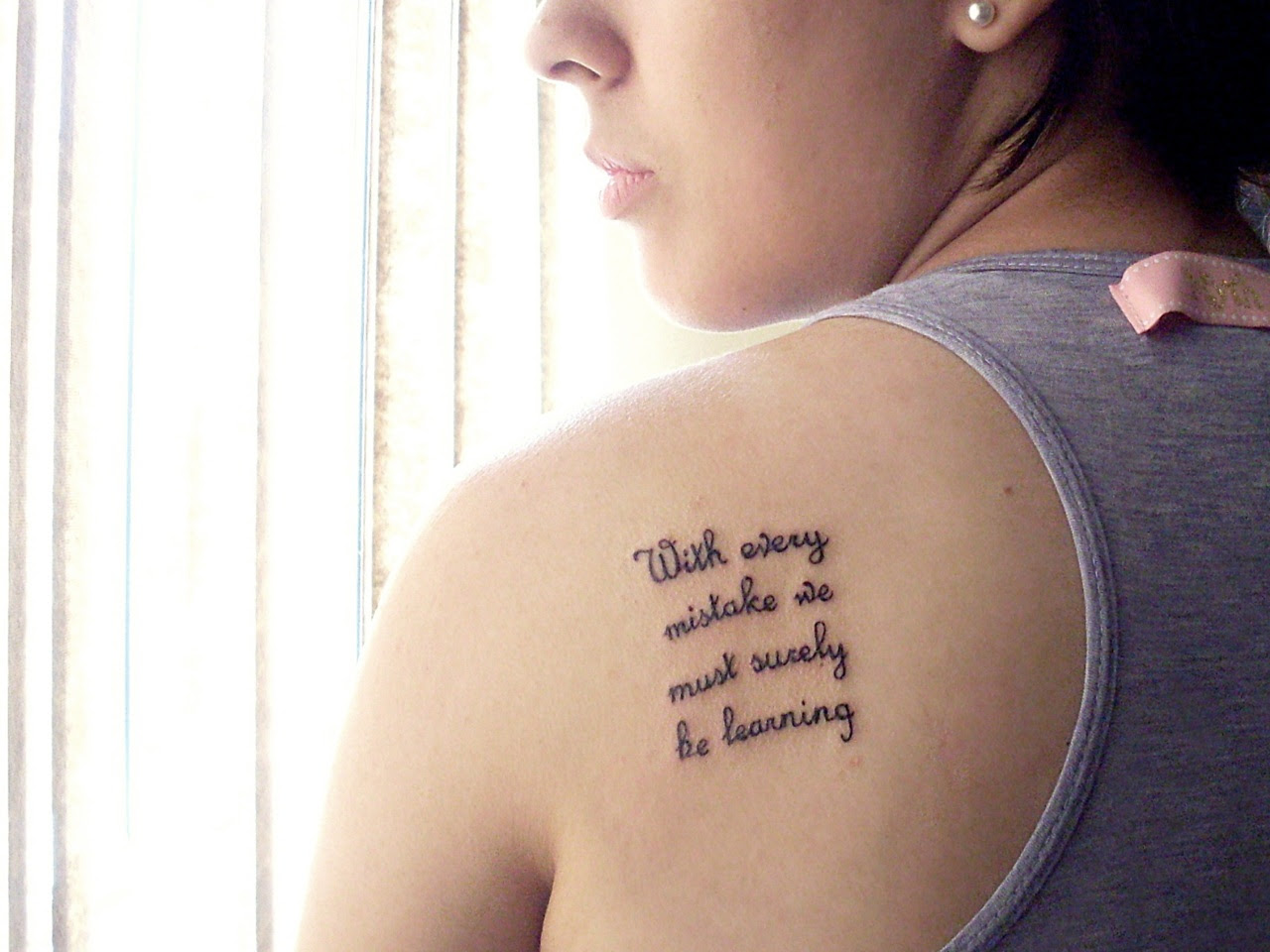 Quote Tattoos Designs, Ideas and Meaning  Tattoos For You