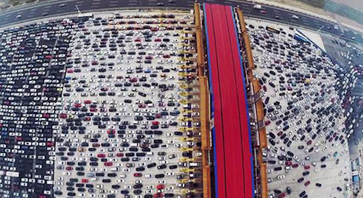 Chinese Traffic Jams Are Awful - Digg