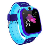 Kid's Tick Tack Fun Smart Watch - Color: BLUE