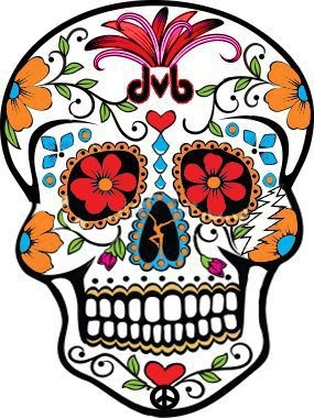 Slab Mask On Mold Dia De Los Muertos Candy Skull Designs Ifhs