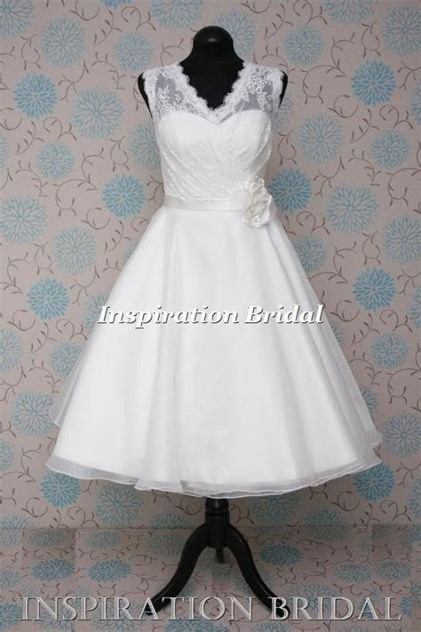 1000  images about Short 50s 60s Wedding Dress on Pinterest