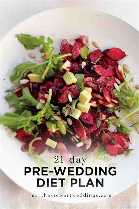 21 Day Pre Wedding Diet Plan   Martha Stewart Weddings