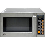 Royal Sovereign - 0.9 Cu. Ft. Compact Microwave - Stainless steel