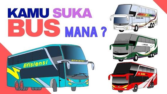 [Terlengkap!] Gambar Mewarnai Bus Shd