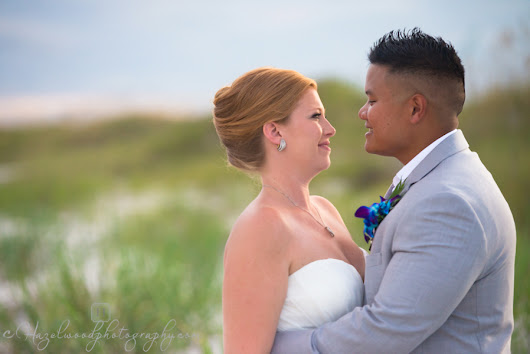 Topsail Beach, NC Wedding : Sarah & Tim