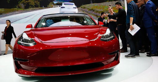 Elon Musk Taps Brakes on Tesla's Model Y After 3's 'Production Hell' - WSJ