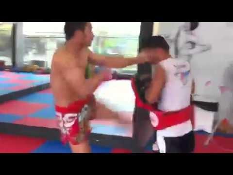 Muay Thai speed kicking