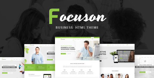 Download Nulled Focuson - Business HTML Theme For Free