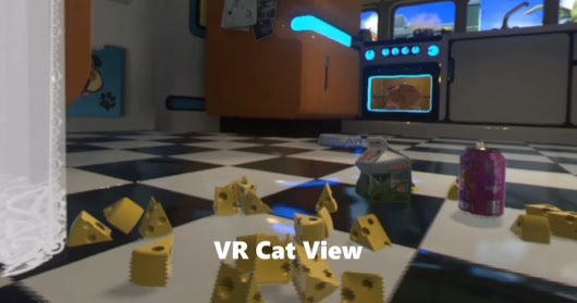 VERY IMPORTANT: PlayStation VR has a game where you play as a cat