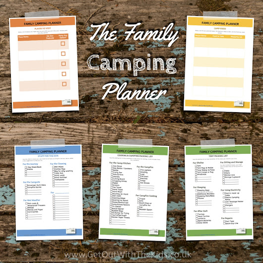 How to get organised with the Family Camping Planner