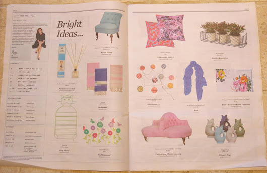 Lauraloves Bright Ideas in The Daily Telegraph