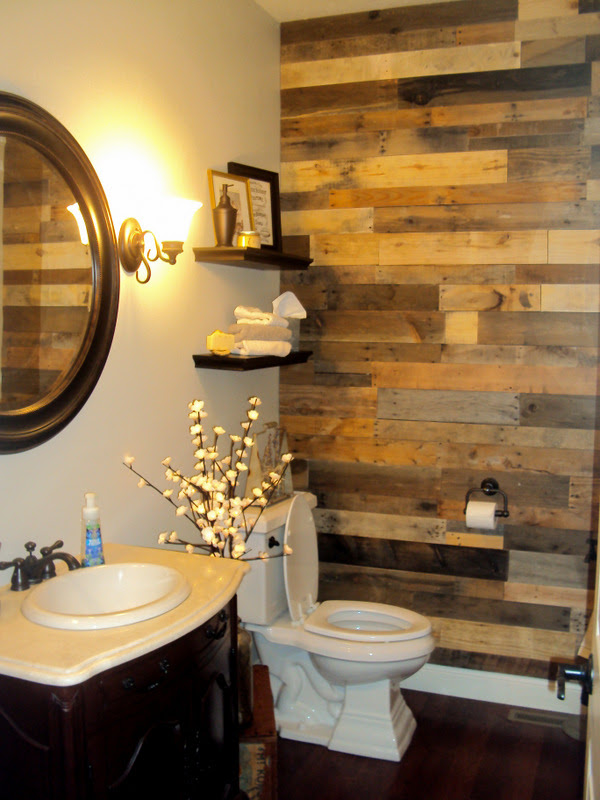 Pallet Wood Accent Wall - Sustainable Lumber Company