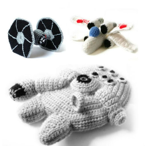 PDF of Star Wars Ships Amigurumi Crochet by MysteriousCats on Etsy