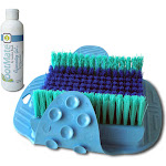 Gordon Brush FootMate Foot Brush Scrubber & Massager System-Blue by Wholesale Point