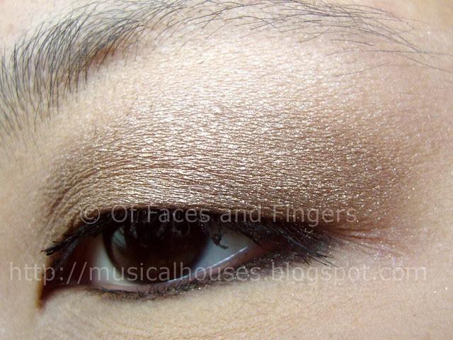 mimididi 3D diamond powder eyeshadow eotd 3
