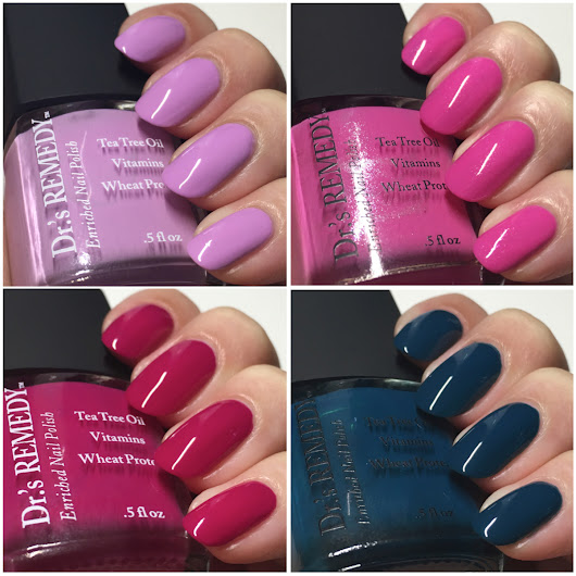 Enriched Nail Lacquers by Dr.'s REMEDY