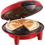 Hamilton Beach Quesadilla Maker - Red 25409