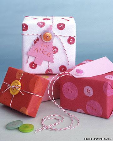Envolver regalos niños