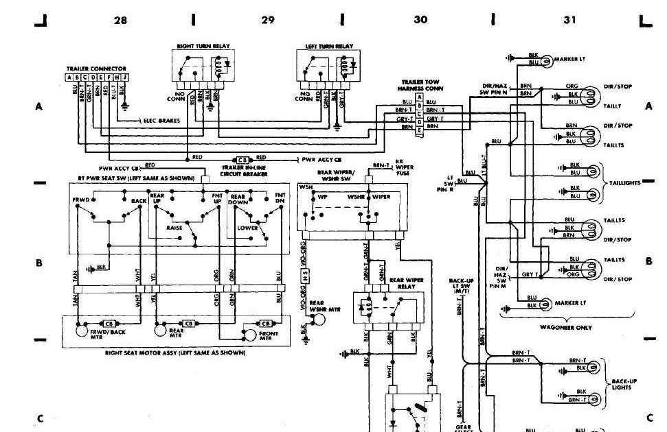 99 Jeep Cherokee Electrical Schematic