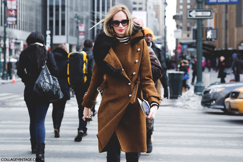 New_York_Fashion_Week-Street_Style-Fall_Winter-2015-Militar_Coat-