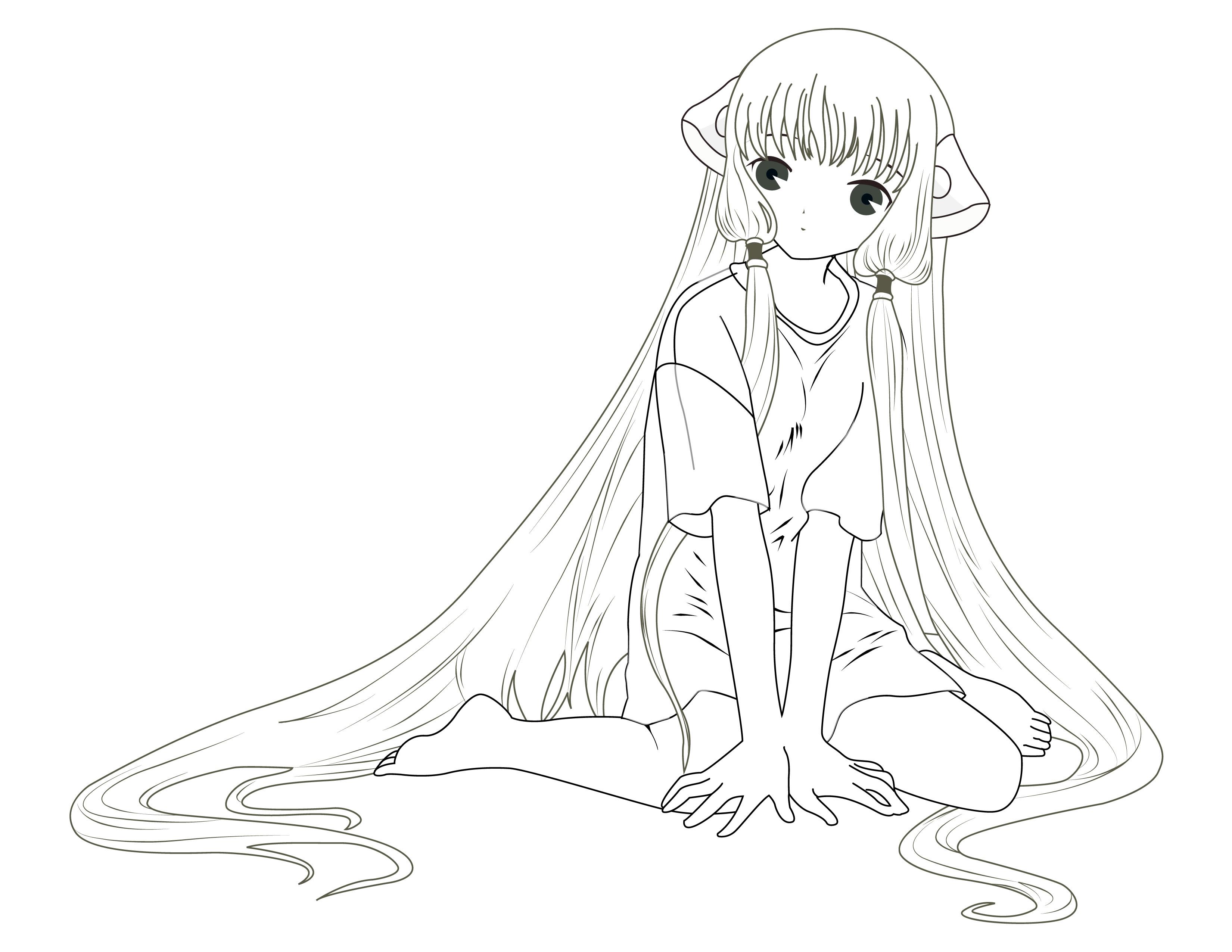 artherapie coloriage gratuit freevector manga