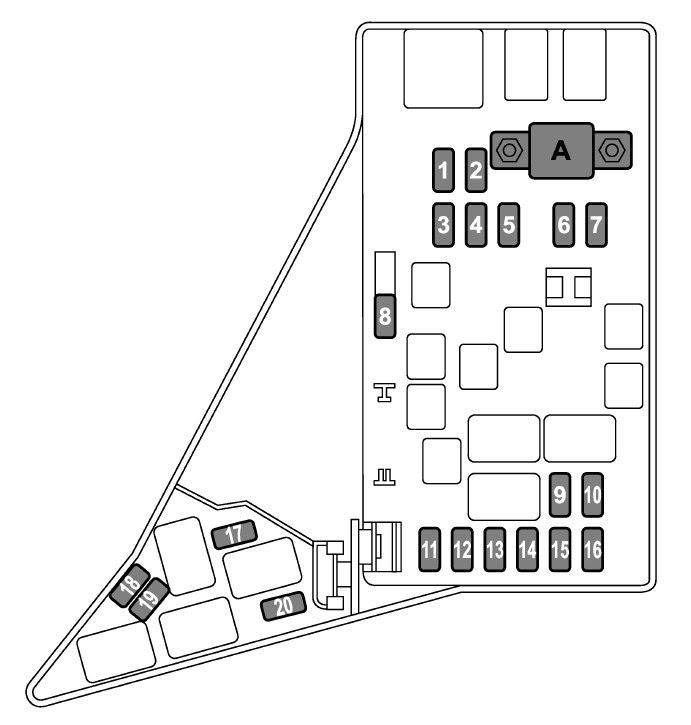 2004 Wrx Fuse Box Location